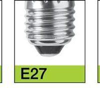 LED E27-E14-B22